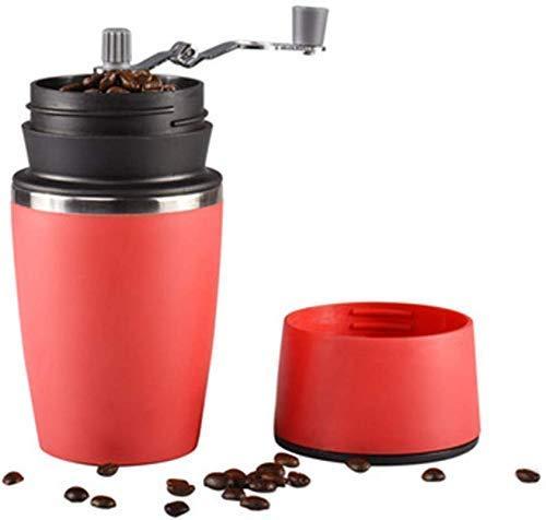 MTWERS Máquina de café Mano portátil Molinillo de café Portátil Mano para el hogar Máquina de café Máquina de café semiautomática pequeña