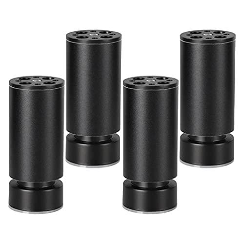 Veemoon 4 Piezas de Muebles de Metal Patas de Repuesto Sofá Banco Silla Patas de Mesa Muebles Pies para Gabinete Sofá Otomano