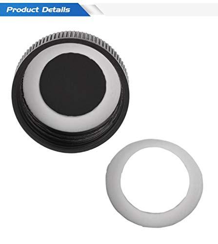 SHIJING 50PCS / Bag O-Ringe für Airbrush Glasglas Internen Dichtring Gummi-Dichtungen Airbrush Werkzeug-Zubehör