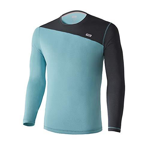 42K Running - Camiseta técnica Manga Larga Atria Winter Capri Blue XS