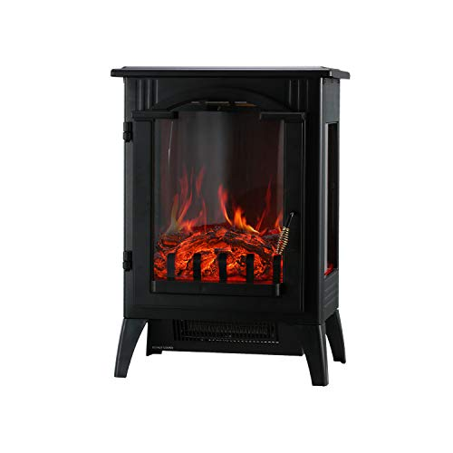 KOOLWOOM Portable Electric Fireplace Stove Heater...