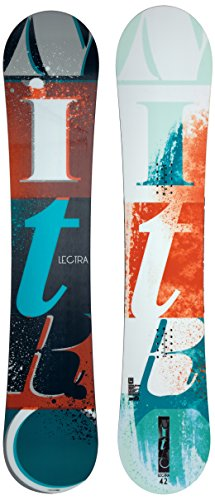 Nitro Snowboards Damen Lectra Bold 15 Snowboard, Mehrfarbig, 142