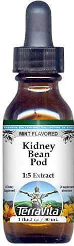 Kidney Bean Ranking TOP2 Pod Glycerite Liquid Dedication - Extract 1:5 Mint Flavored