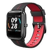 Lintelek Smartwatch 1,3 Zoll Touch Farbdisplay...