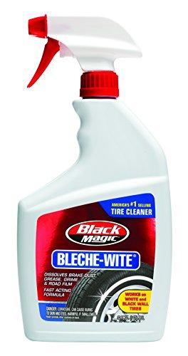 Black Magic 120066-4PK Bleche-Wite Tire Cleaner, 32 oz. (Pack of 4)