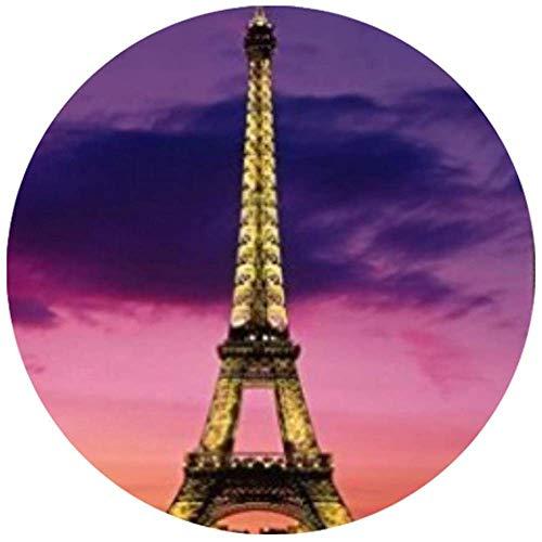 Computer Matte,Paris Eiffel Tower Fashion Auffällige Schreibunterlagen Für Das Home-Office-Dekor 20X20cm