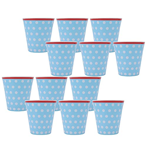Taza de melamina, taza de agua 12PCS Taza de bebida para restaurante para regalo escolar