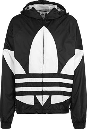 adidas Big Trefoil Wb Giacca Sportiva, Uomo, Black, L