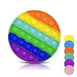 DONSFIELD Pop It Fidget Toy para Todos – Fun Push Pop Bubble Sensory Fidget Juguetes para niños con Autismo y Adultos – Diseñado para Necesidades Especiales y ansiedad – Multicolor