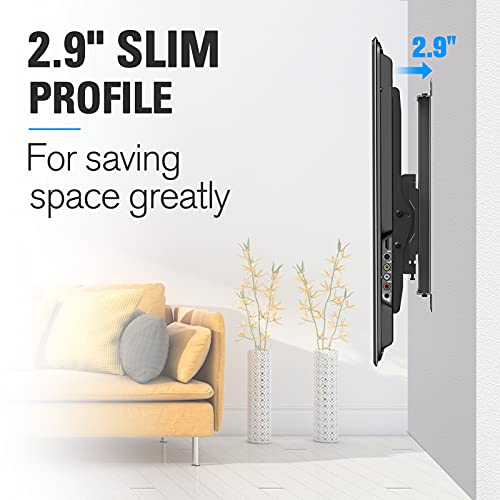 Mounting Dream TV Wall Mount with Height Adjustable for 26-65