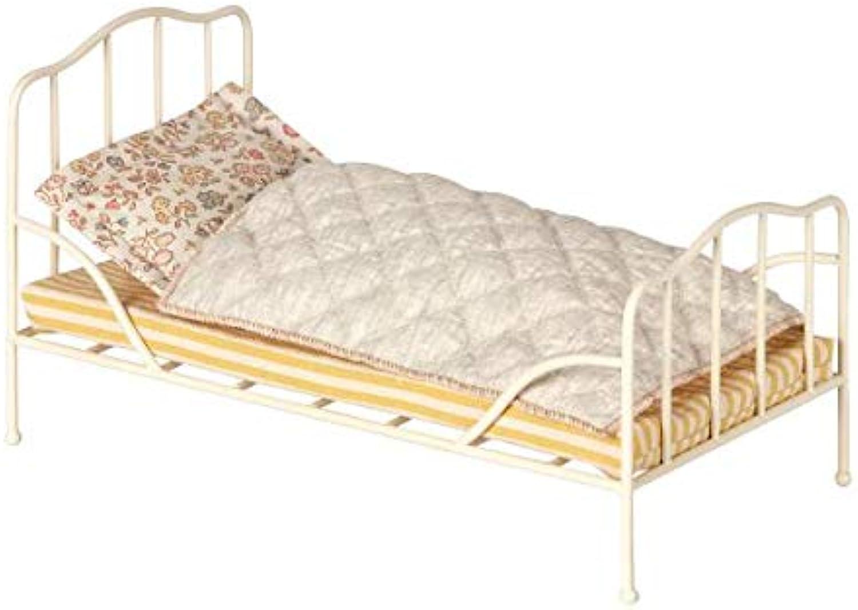 Vintage bed, Mini  Off white