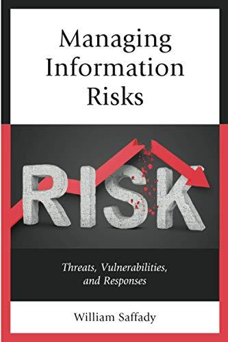 Managing Information Risks Front Cover