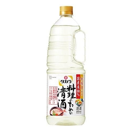 タカラ 料理のための清酒 取手付 [ 日本酒 1800ml ペット ]