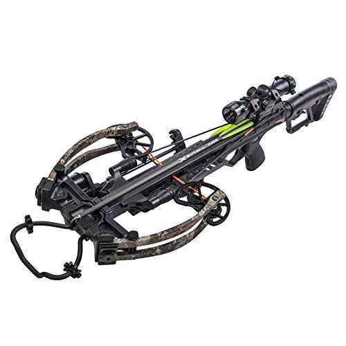 Bear X Constrictor CDX Ready to Shoot Crossbow Package with Scope, Quiver, Bolts, Cocking Rope, and Wax, Strata Finish,One Size,AC94A2AA200
