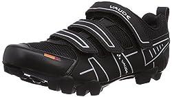 VAUDE Exire Active RC, Unisex Adult Cycling Shoes - Road Bike, Black (black / silver), 46 EU (11.5 UK)