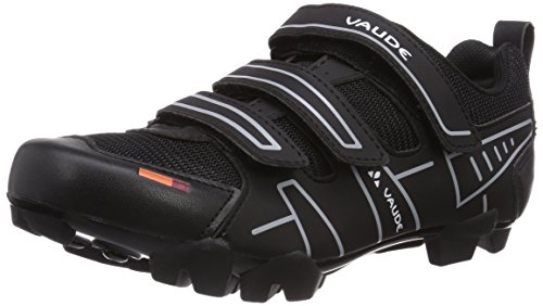 Vaude VAUDE Exire Active RC, Unisex-Erwachsene Radsportschuhe - Rennrad, Schwarz (black/silver), 41 EU (7.5 UK)
