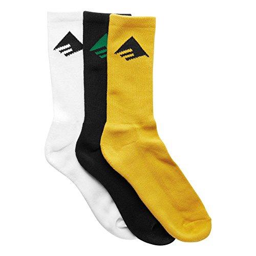 Emerica Erwachsene Pure 3 Pack Socken, Assorted, One Size
