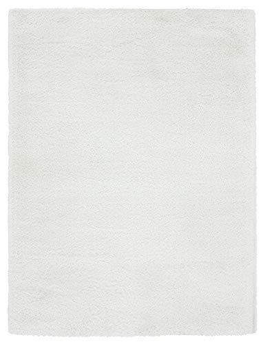 United Weavers Ritz Shag Area Rug 760 50099 Easton White Plush Soft 5' 3