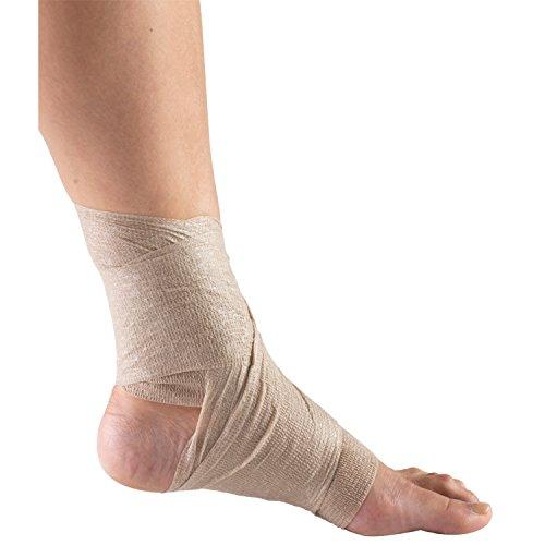 CHAMPION Self-Adhering Elastic Bandage Adjustable Wrap, Beige, Universal, 3 Inch Wide