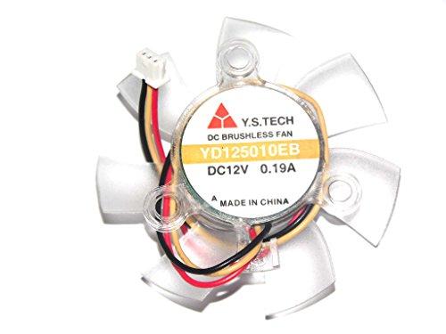 Generic 45MM yd125010eb 12V 0.19A 3Cable video ventilador 26* 26* 26mm