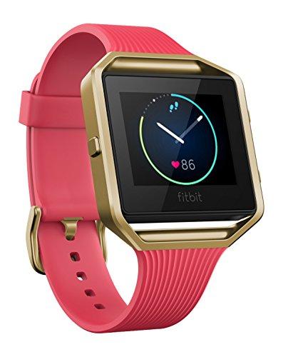 Fitbit Blaze Smarte Fitness Uhr, Rosegold, L