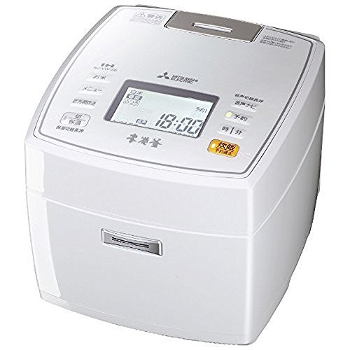 Mitsubishi Electric IH rice cookers this Sumigama 5.5 Go cook Pure White NJ-VW106-W