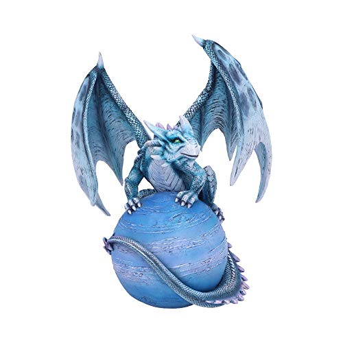Nemesis Now Mercury Guardian - Figura de dragón (polirresina, Azul, Talla única)
