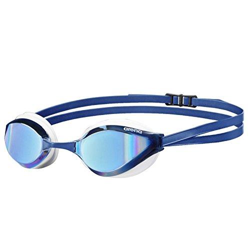 Arena Python Mirror Schwimmbrille, Blau/Weiß