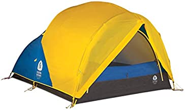 Sierra Designs Convert 2 Tent, 2 Person 4 Season All Weather Backpacking and Mountaineering Tent, Yellow/Blue