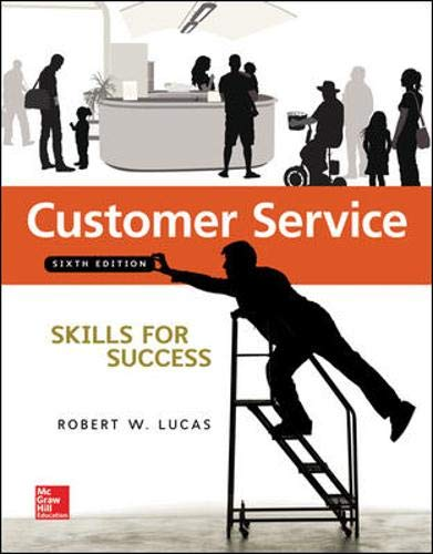 Download Customer Service Skills for Success 0073545465
