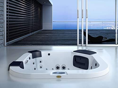 Jacuzzi Delfi Pro Sound minipiscina de hidromasaje empotrada indoor y outdoor 9444-80052