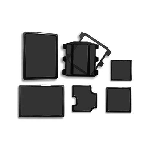 DEMCiflex HAF 922 - Set di filtri magnetici antipolvere per pc