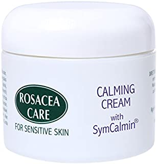 CALMING CREAM WITH SYMCALMIN - Nourishing, anti-aging, effective for rosacea (2 Oz)