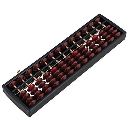 13 Column Abacus Soroban Wickelvorrichtung Berechnung Werkzeug Schwarz Rahmen