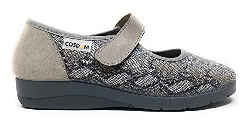 Zapato de Calle/Mujer/Cosdam/Apto Plantilla Ortopédica/Plantilla Extraíble/Empeine: Textil/Suela: Goma/Muy Suaves/Talla 40
