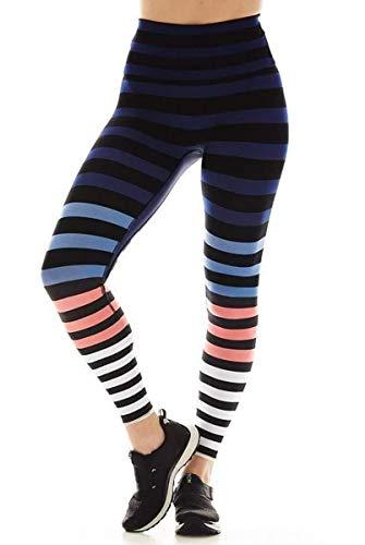 K-Deer 7/8 Sneaker in Molly Stripe-Stripe-XS Womens Active Workout Yoga Leggings Stripe