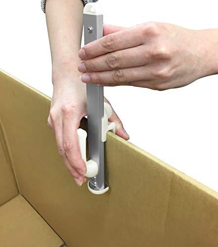 日伸貿易段ボールサイズ調整用カッター箱切り名人小白
