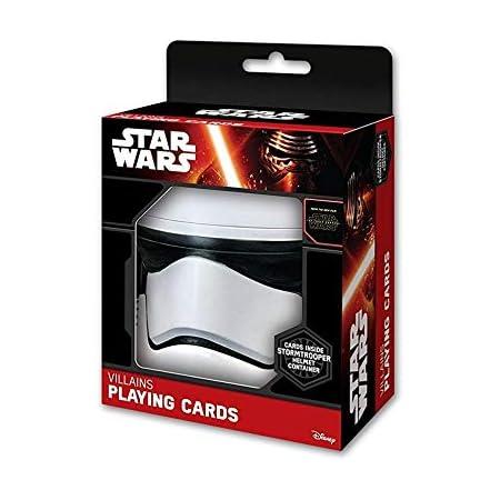 Star Wars cartes à jouer avec Stormtrooper EMBOSED storage Tin