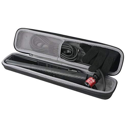 co2CREA Hart Reise Schutz Hülle Etui Tasche für Remington Lockenstab Pearl CI9532 /ghd V gold classic Styler Haarglätter (Nur Tasche)