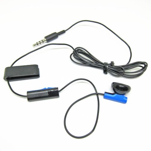 Beracah Headset Earbud Microphone Earpiece for PS4 Controller Headphones