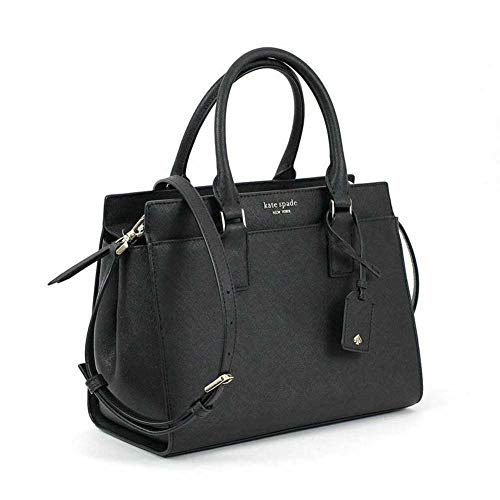 Kate Spade New York Cameron Medium Satchel Purse (Black)