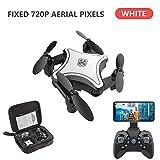 vogueyouth KY902 Mini-Drone avec caméra, Quadricoptères Haute définition Standard / 720P / 4K, Repliable, télécommandé, aéronef à Quatre Axes avec Batterie Rechargeable de 3,7 V à 300 mA