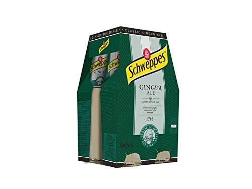 Schweppes - Ginger Ale - Pack 4 x 25 cl