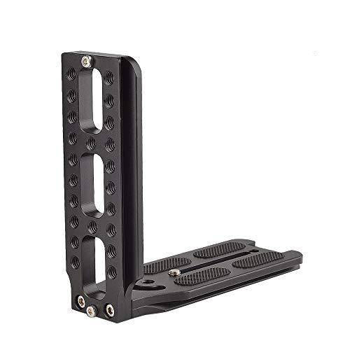 Fealay Universal en Forma de L Soporte QR Plate, Vertical Grabando Video Arca Suizo Ajuste for dji Osmo Ronin Zhiyun Canon Nikon Sony DSLR