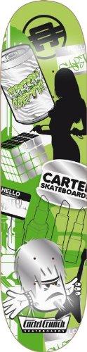 Cartel Skateboard Mishmash, grün, 19,8 cm