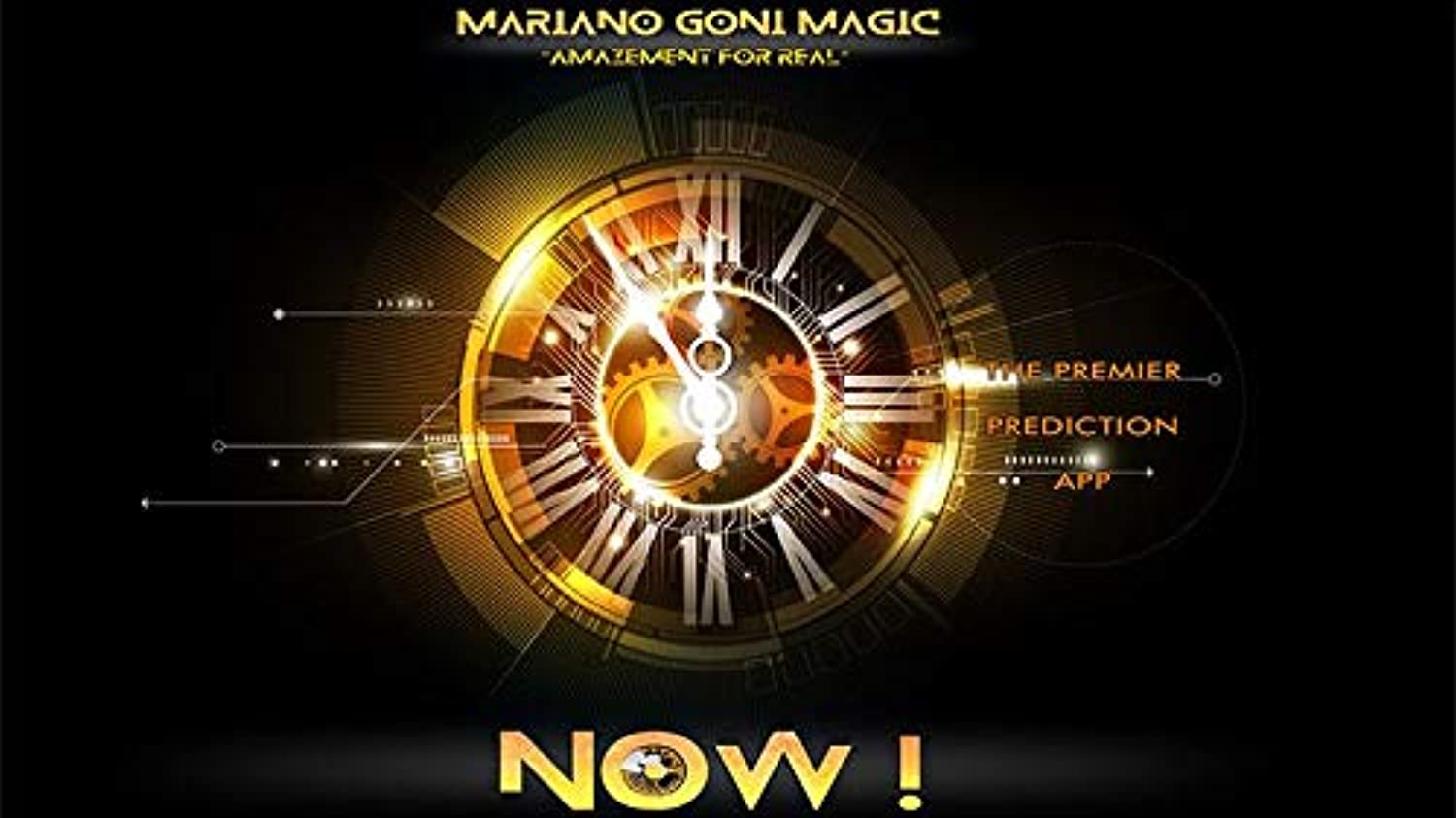 NOW  iPhone Version (Online Instructions) by Mariano Goni Magic  Trick