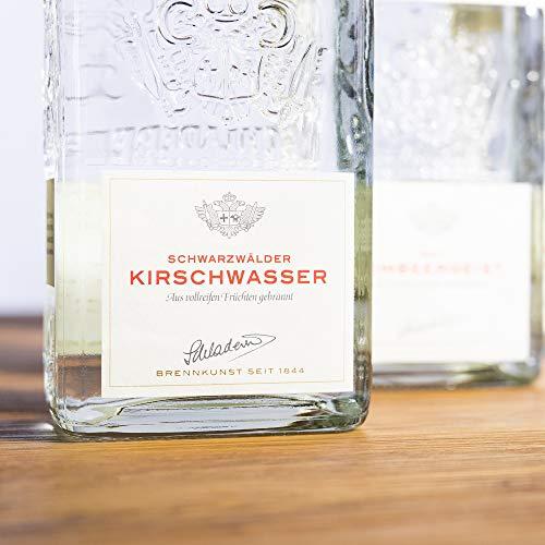 Schladerer Schwarzwälder Kirschwasser, edler Obstbrand aus dem Schwarzwald, traditionell aus Schwarzwälder Süßkirschen bester Lagen (1 x 0.7 l) - 2