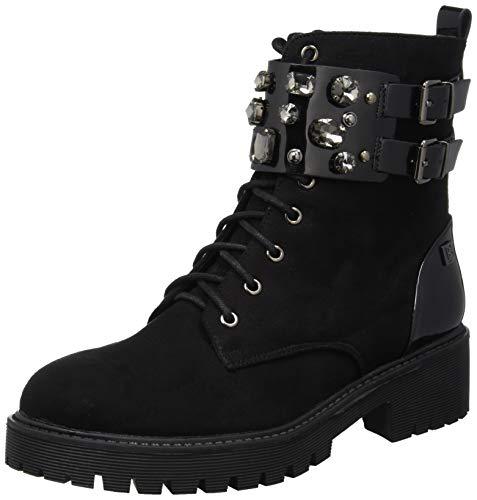 Laura Biagiotti Damen 5044_az Combat Boots, Schwarz (Black 01), 41 EU