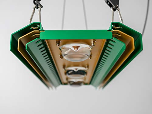Pflanzenlampe Hellises 290W Full Spectrum Passive Cooled 35000 Lumen 620 PPF high Par value high CRI Plant light
