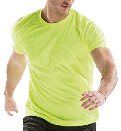 Asioka 75/09- Unisex T-Shirt, Erwachsene L Neongelb